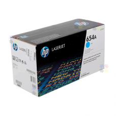 HP 654A (CF331A) картридж голубой для HP Color LaserJet Enterprise M651