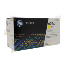 HP 654A (CF332A) картридж желтый для HP Color LaserJet Enterprise M651