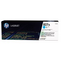 HP 827A (CF301A) картридж c голубым тонером для HP Color LaserJet flow MFP M880 Enterprise series