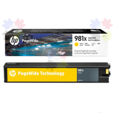 HP 981X L0R11A желтый картридж HP PageWide Enterprise Color 556 / 586